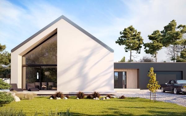 Domy w stylu nowoczesnej stodoły