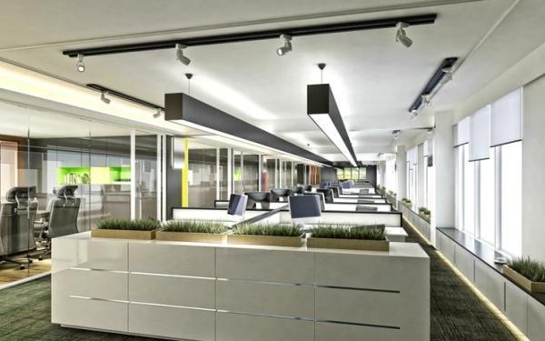 Jak projektować oświetlenie biurowe? Najnowsze technologie