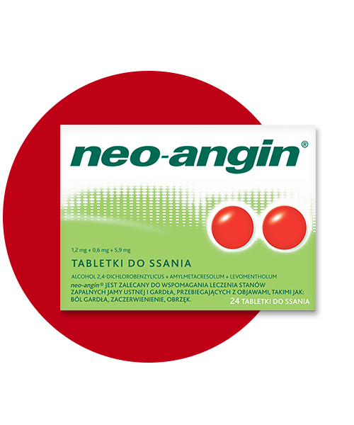 Tabletki do ssania neo-angin®