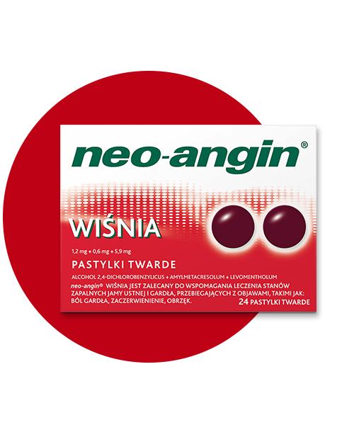 Tabletki do ssania neo-angin® WIŚNIA