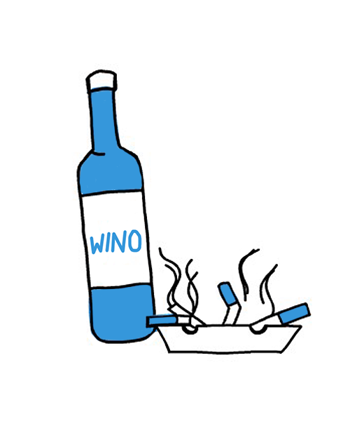 Alkohol i palenie tytoniu